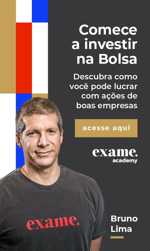 Chamada para acessar a Exame Academy